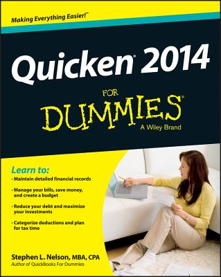Quicken 'X' for Dummies By Nelson, Stephen L.